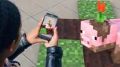 Microsoft тизерит мобильную игру с дополненной реальностью по Minecraft