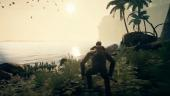 Родитель спасает детёныша — геймплей Ancestors: The Humankind Odyssey от NVIDIA