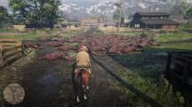 Кто-то устроил геноцид лошадей в Red Dead Online