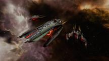 Кинематографичный трейлер дополнения EVE Online: Invasion