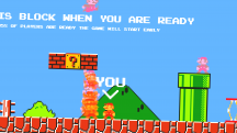 Энтузиаст превратил Super Mario Bros. в королевскую битву на 75 человек