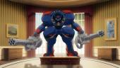 Релизный трейлер Metal Wolf Chaos XD — ремастера игры от авторов Dark Souls, в которой президент США рулит боевым роботом