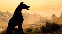 Геймер сделал мод для Skyrim, где увековечил своего погибшего пса