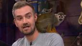 Обезьянка заблевала разработчика, который рассказывал об обезьянках в Sea of Thieves