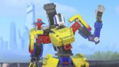 До конца сентября в Overwatch пройдёт испытание, за которое можно получить LEGO-облик для Бастиона