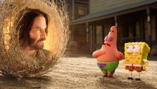 В свежем трейлере мультфильма «Губка Боб 3» засветился Киану Ривз