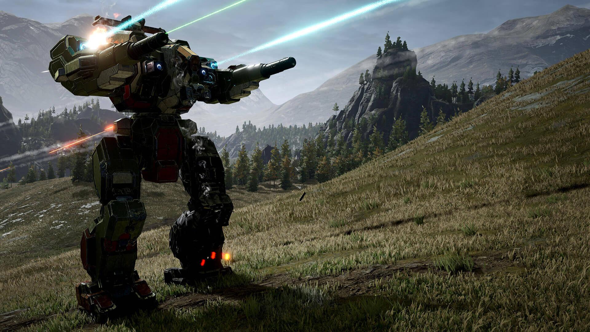 Свежий трейлер MechWarrior 5: Mercenaries рассказывает предысторию игры