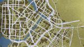 Артбук Cyberpunk 2077 демонстрирует карту игры