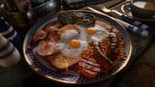 В Dreams приготовили невероятно аппетитный английский завтрак