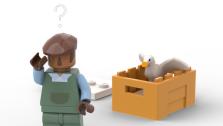 LEGO может выпустить набор конструктора по Untitled Goose Game