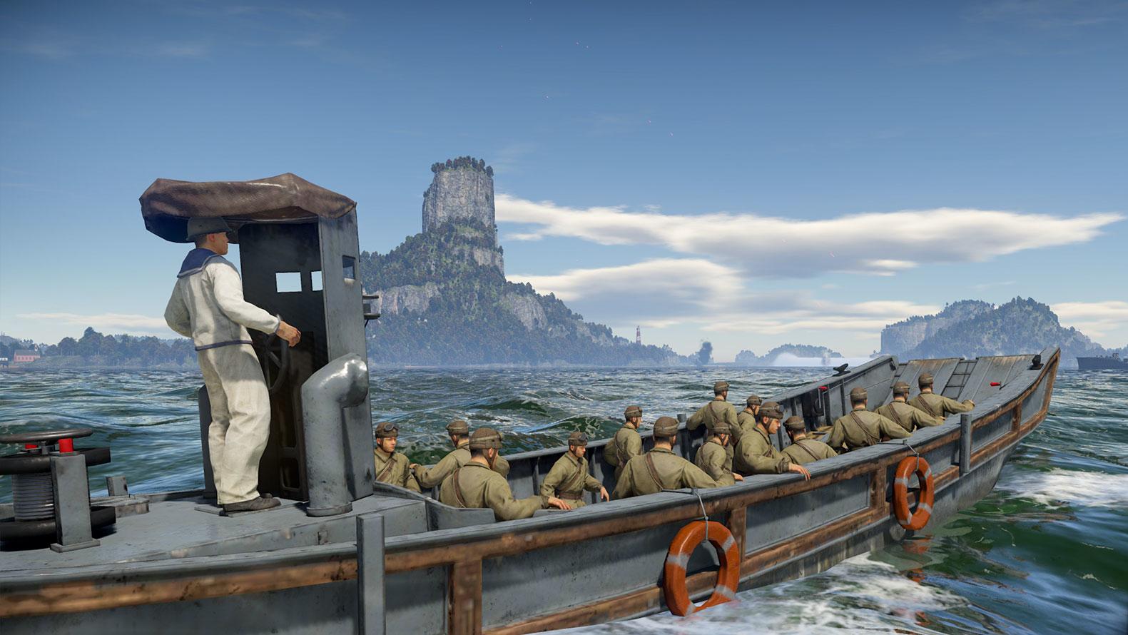 Второй сезон режима «Мировая война» в War Thunder пополнится боевыми кораблями