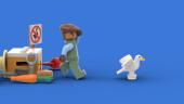 LEGO-набор по Untitled Goose Game набрал необходимое число голосов для выпуска