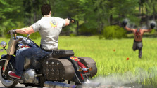 Двустволка и здоровенный мужик с кувалдой — свежий фрагмент геймплея Serious Sam 4