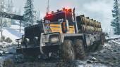 Второй обзорный трейлер SnowRunner — грандиозного симулятора дальнобойщика