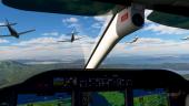 В мультиплеере Microsoft Flight Simulator есть единый мир для всех игроков с реальным авиатрафиком
