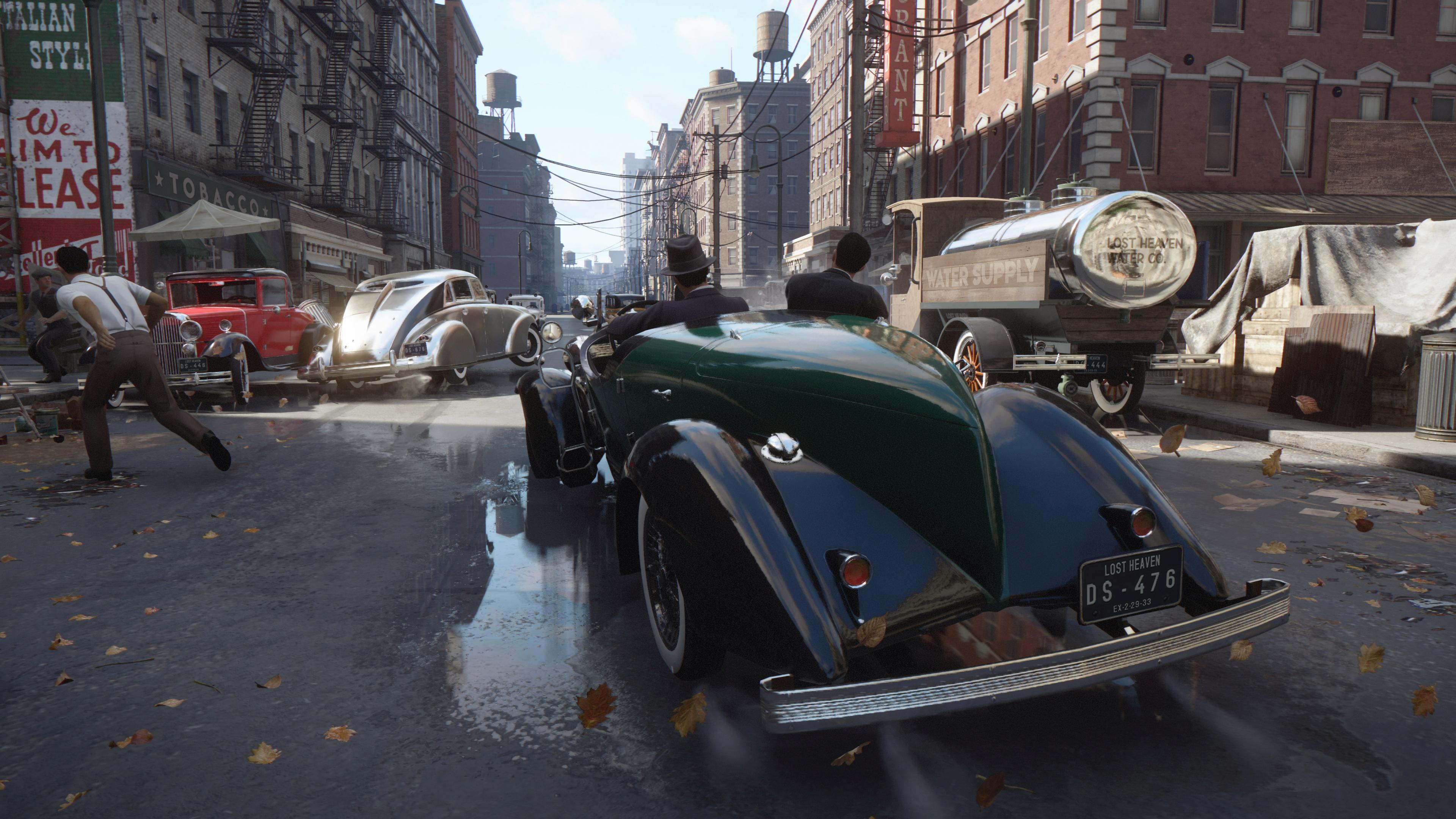 Авторы Mafia: Definitive Edition сравнили игру с ремейком Resident Evil 2
