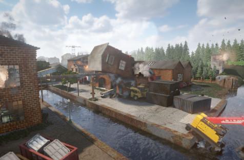 Воксельная головоломка с полной разрушаемостью Teardown выйдет 29 октября в раннем доступе