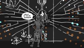 Юная Аликс и настенный magnum opus — несколько ранних иллюстраций к Half-Life: Alyx с комментариями художницы