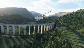 В Microsoft Flight Simulator повысили детализацию Британии и Ирландии