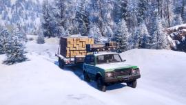 В новом сезоне SnowRunner предстоит построить ракету в Амурской области