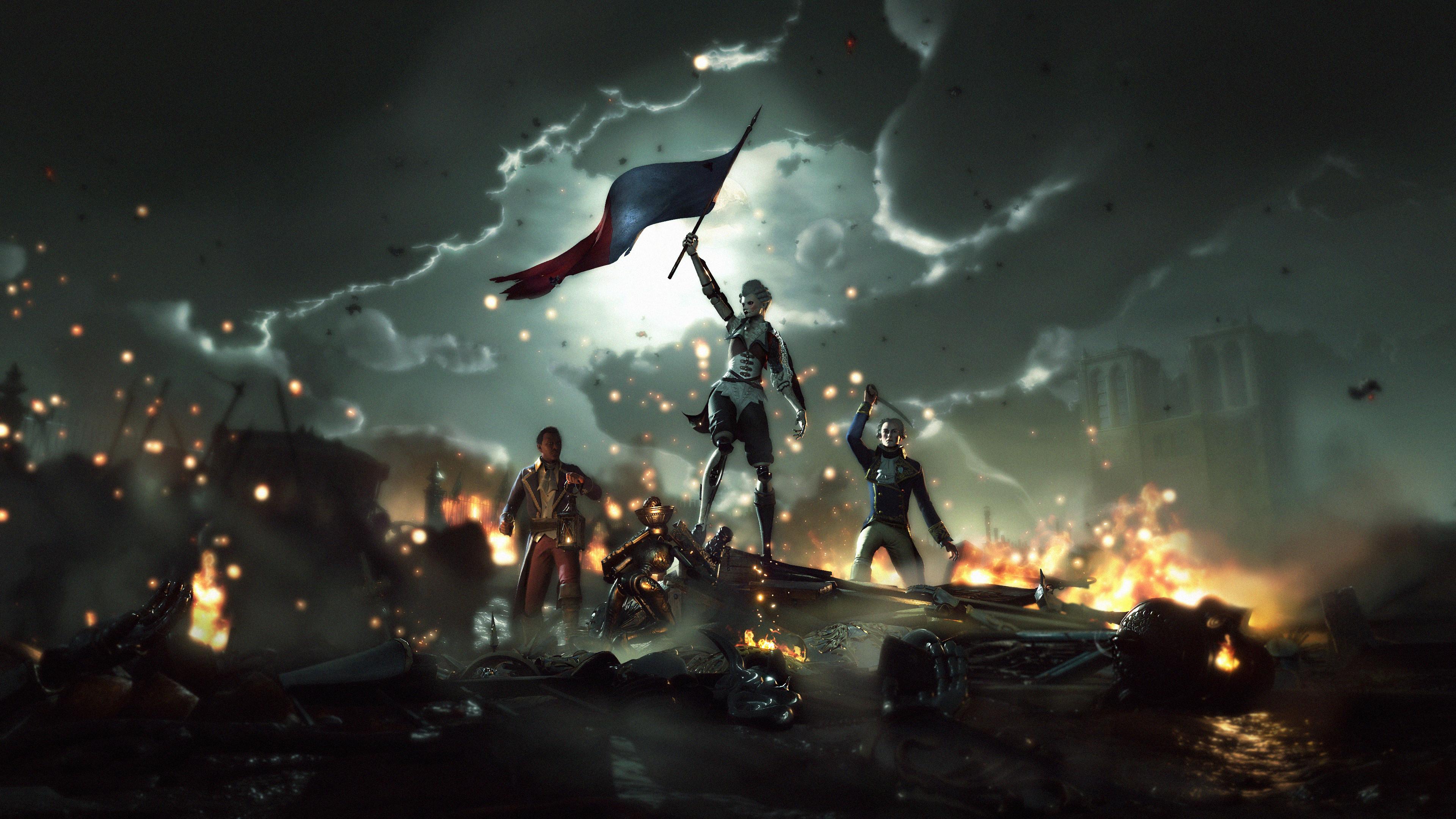 Первые роботы в Париже — трейлер Steelrising  от авторов GreedFall