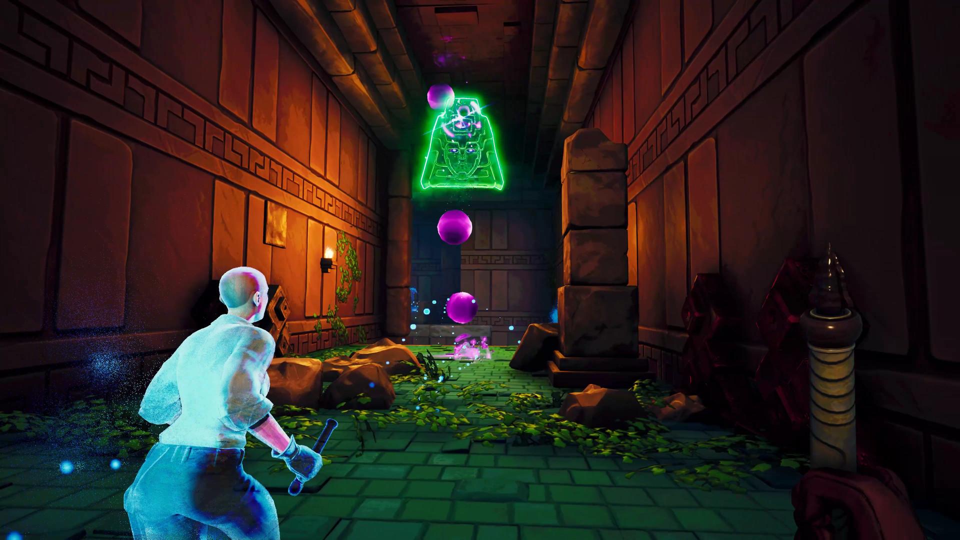 Трейлер к запуску Phantom Abyss — акробатического «рогалика» про асинхронное расхищение гробниц