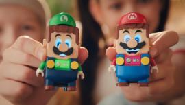 Ролик о кооперативе LEGO-фигурок Луиджи и Марио