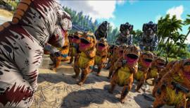 В ARK: Survival Evolved начался летний фестиваль с надувными динозаврами