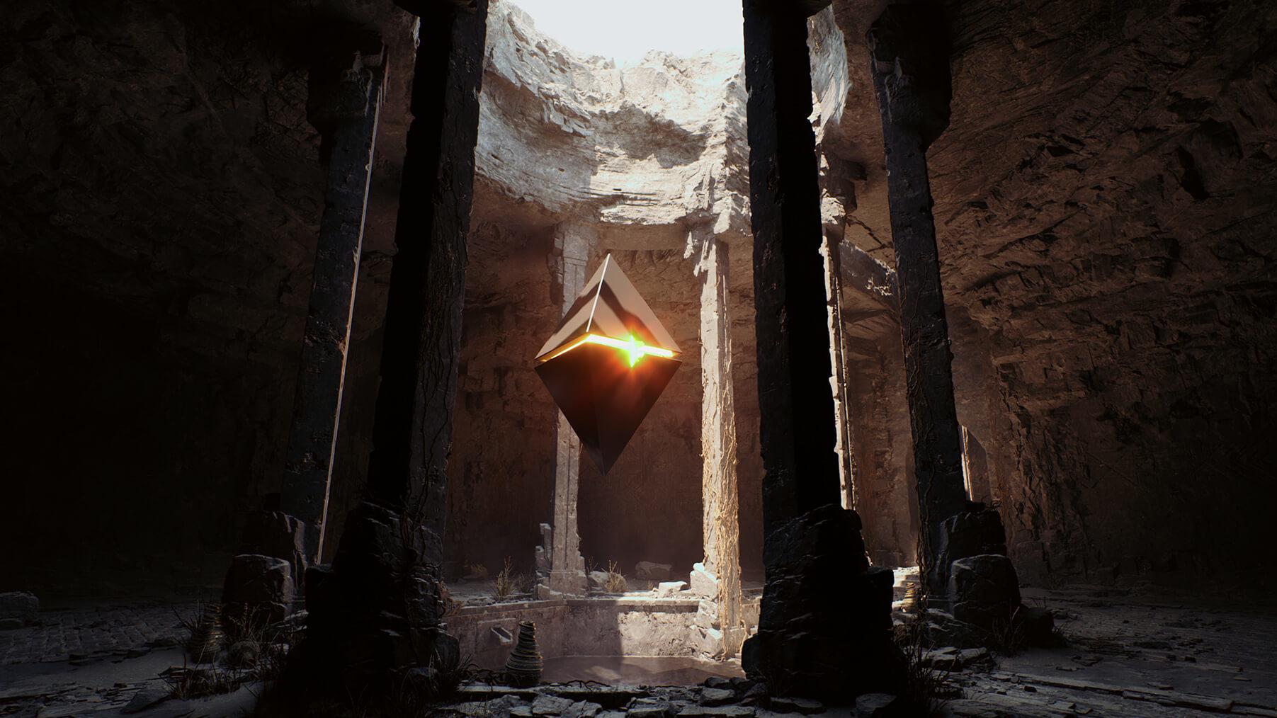 Первый скриншот из технодемо Unreal Engine 5 от авторов Gears