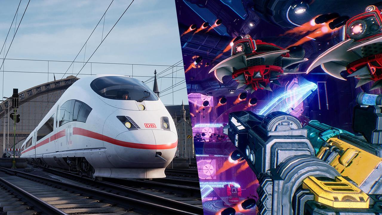 Train Sim World 2 и Mothergunship в новой раздаче Epic Games Store. На очереди —  A Plague Tale: Innocence и Speed Brawl