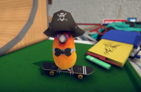 Игра про пернатого скейтера SkateBIRD задержится до 16 сентября