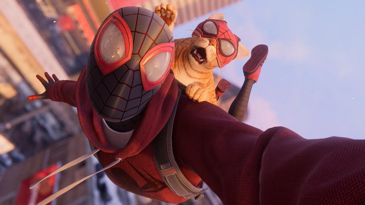 Тысячи лет игрового времени и много-много костюмов с котиком — статистика Spider-Man: Miles Morales