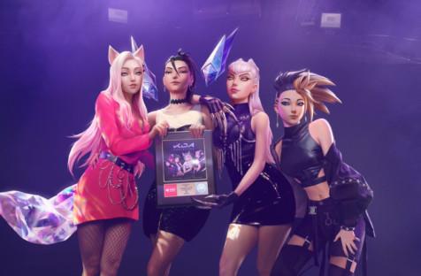 Песня Pop/Stars группы из League of Legends получила золотой статус