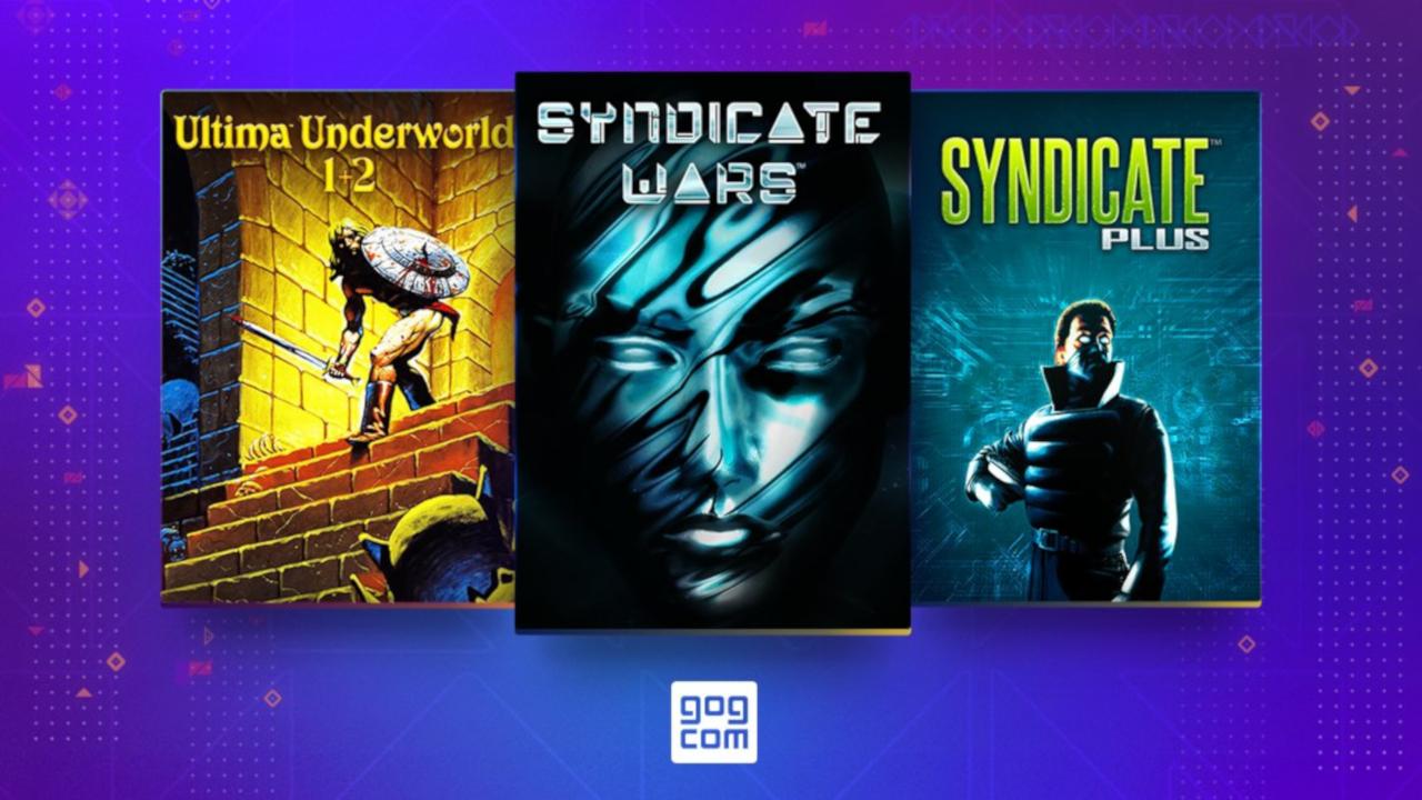 В GOG вернули Ultima Underworld 1+2, Syndicate Plus и Syndicate Wars — и начали их раздавать