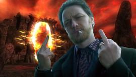 Актёр Джеймс Макэвой сжёг диск с Oblivion на газовой плите, чтобы побороть зависимость от игры