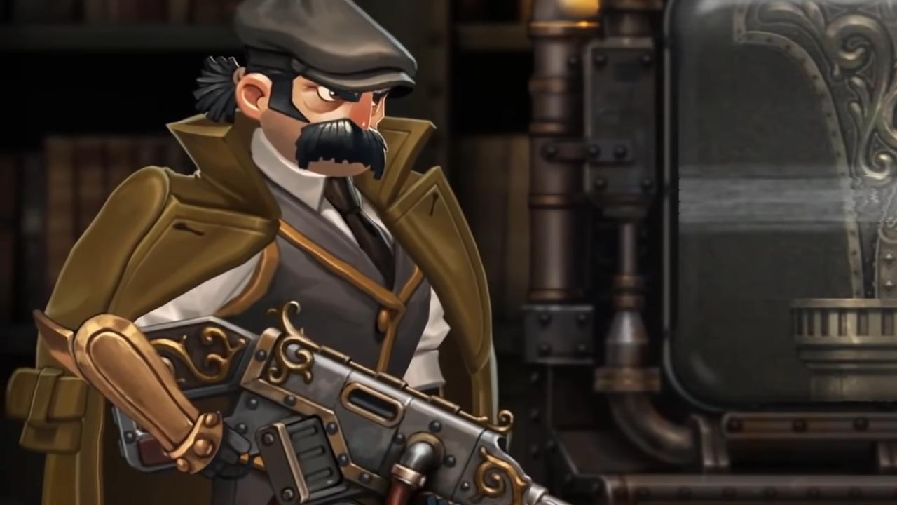 Сюжетный трейлер Naser: Son of Man — двухмерной Gears of War про потрошение стимпанковских роботиранов