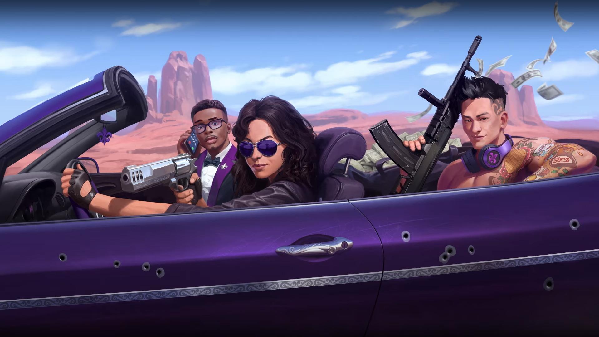 Нарастание фиолетового, многослойная кастомизация и полицейские сводки о главных персонажах — подробности о новой Saints Row