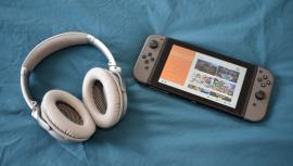 На Switch наконец-то появилась поддержка Bluetooth-наушников