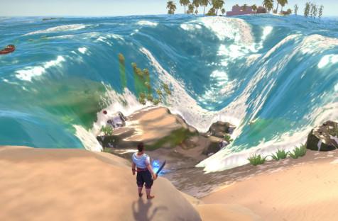 Трейлер Breakwaters — выживача, где нужно повелевать течениями, волнами и океанами