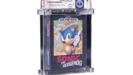 «Это что, мошенники?» — разработчик Соника удивляется рекордному аукциону Sonic the Hedgehog
