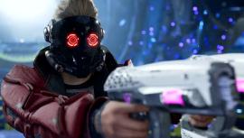 Ролики о боевой системе и исследовании мира в Marvel's Guardians of the Galaxy