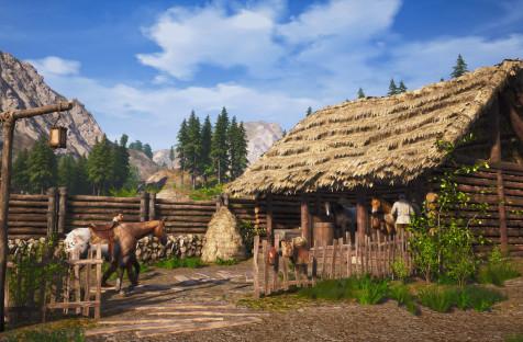 Релизный трейлер Medieval Dynasty — выживача, где можно возглавить средневековую деревню и завести семью
