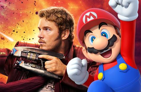 Ещё в детстве Крис Пратт таскал монетки из колодца желаний, чтобы сыграть в Mario Bros.