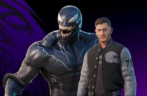 В Fortnite добавили экипировку Эдди Брока из фильма «Веном 2»
