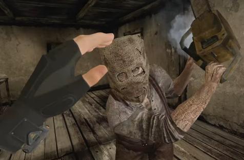 Resident Evil 4 VR выходит 21 октября. В новом трейлере — торговец, рыба-мутант и бензопила