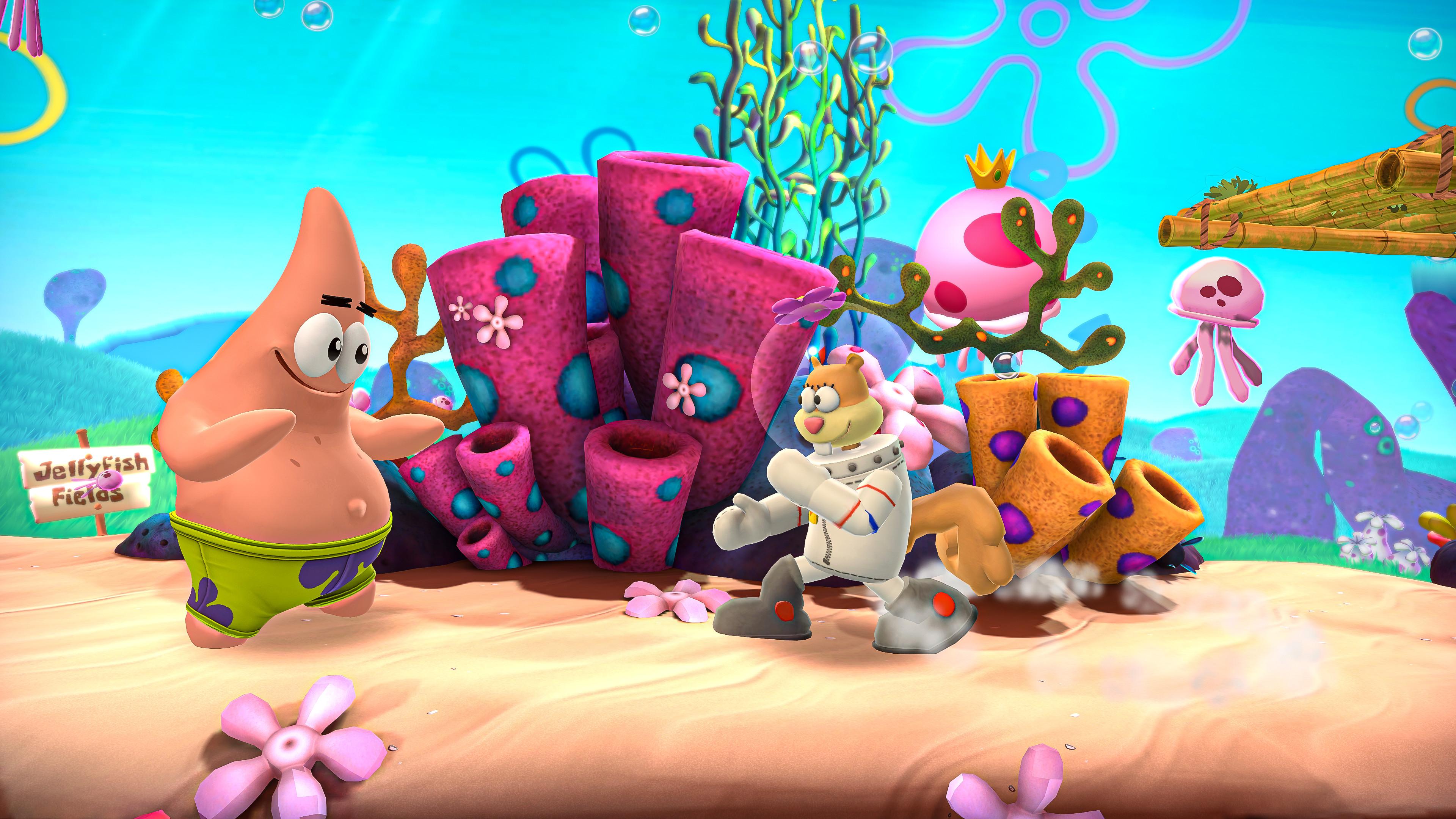 Мультяшки бьют друг другу мордашки — релизный трейлер Nickelodeon All-Star Brawl