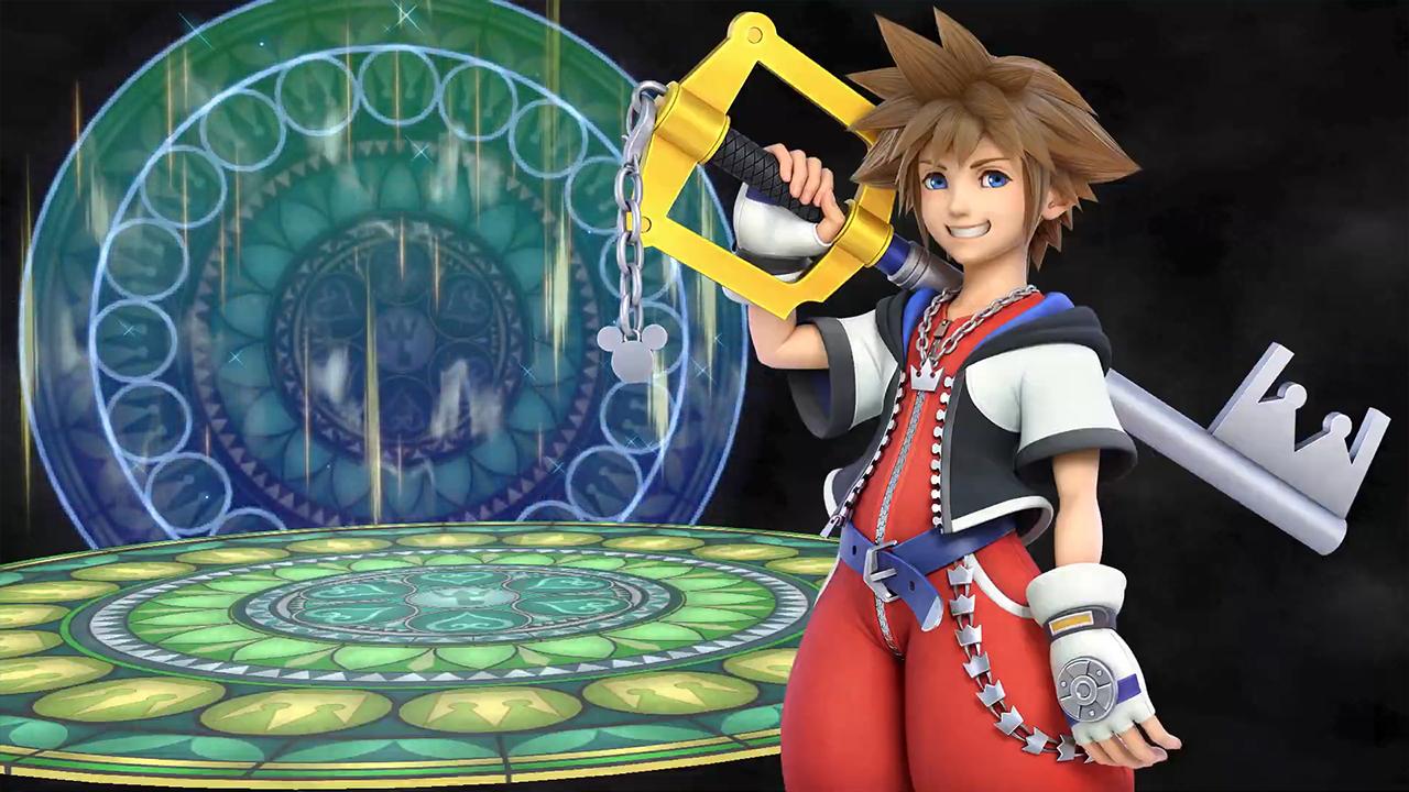 Новым бойцом Super Smash Bros. Ultimate стал Сора — протагонист серии Kingdom Hearts