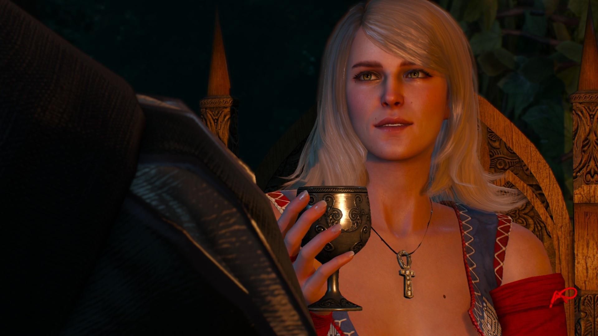 Демонстрация The Witcher 3 на Steam Deck