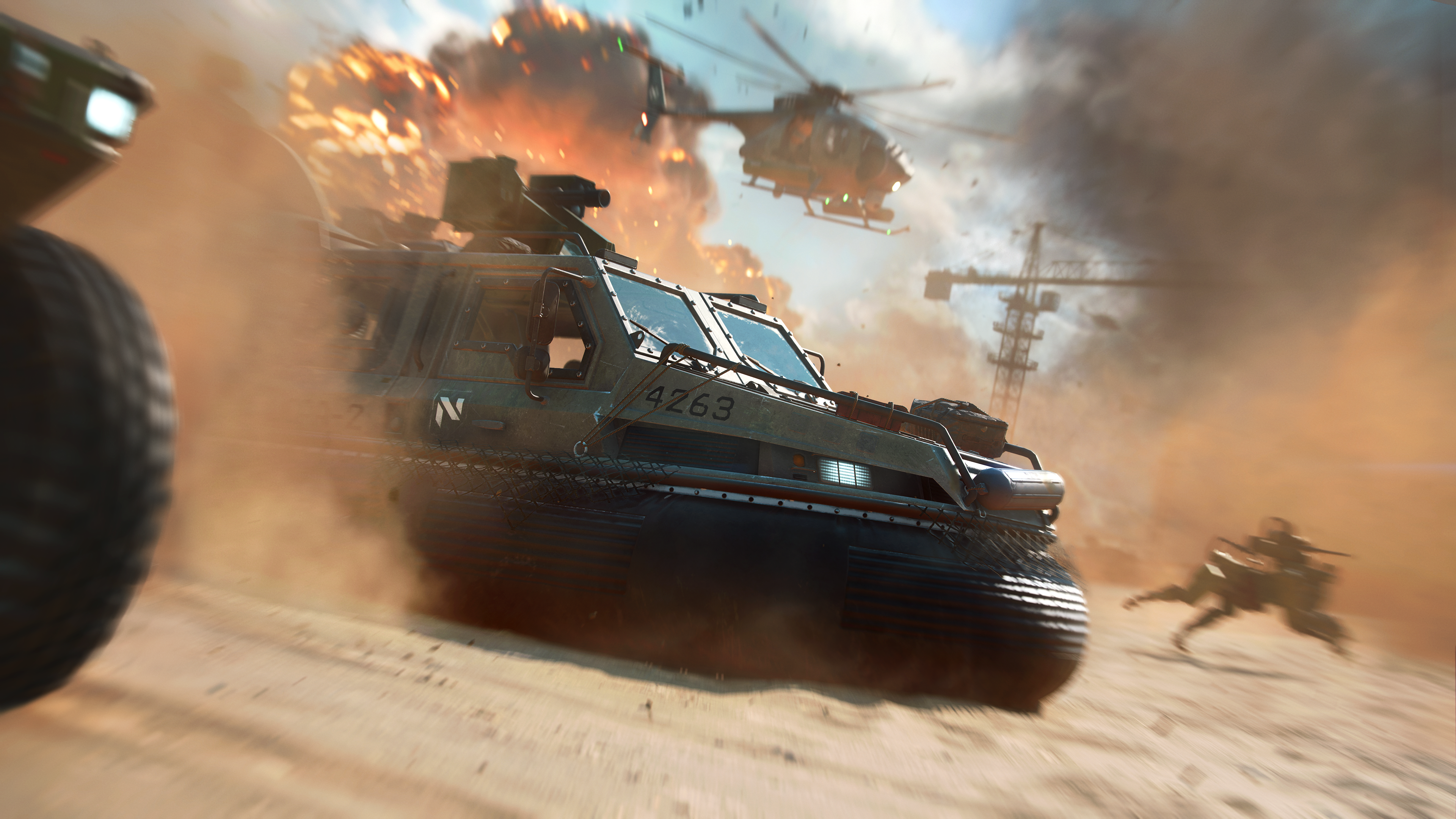 Бета-версия Battlefield 2042 — это сборка, которой уже несколько месяцев