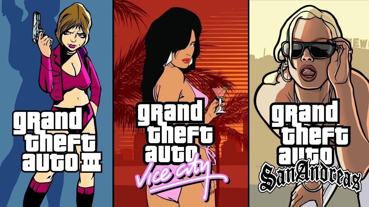Rockstar анонсировала переиздания GTAIII, Vice City и San Andreas. Оригиналы удалят из магазинов